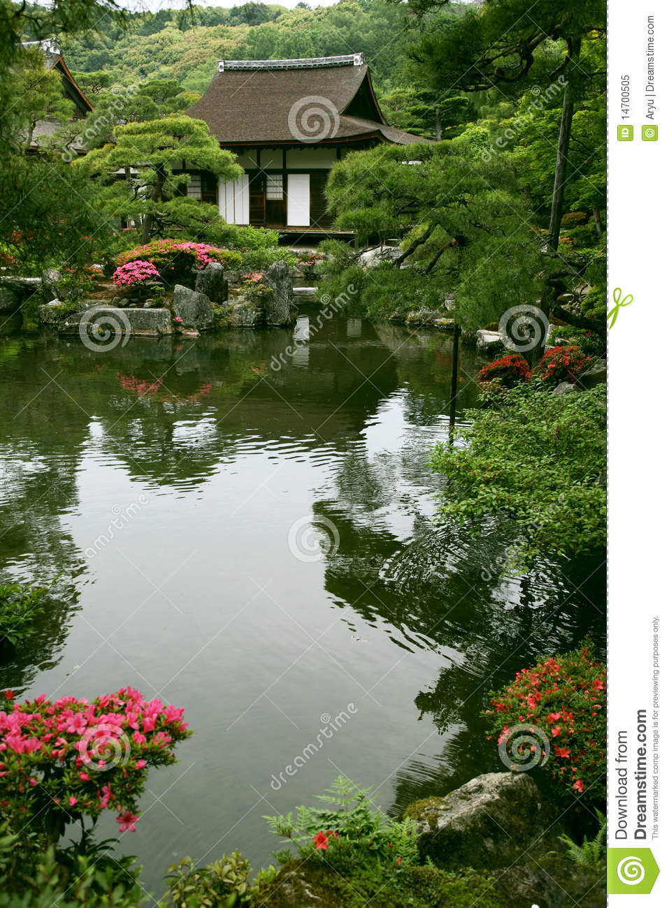 Japanese Landscape Architecture Japanese Landscape Garden Royalty Free Stock Photo Image 14700505