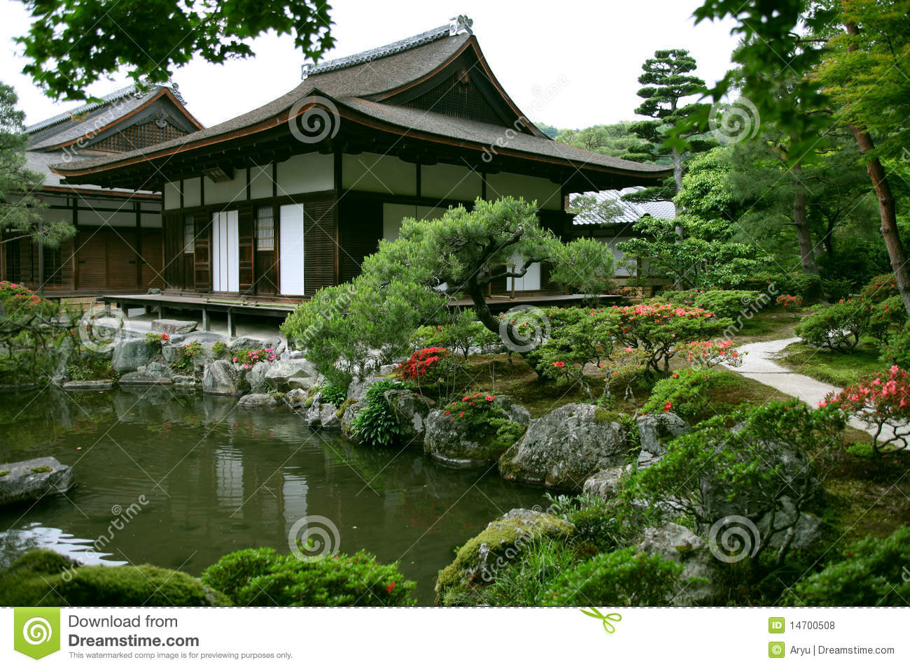 Japanese Landscape Architecture Japanese Landscape Garden Royalty Free Stock Photos Image 14700508