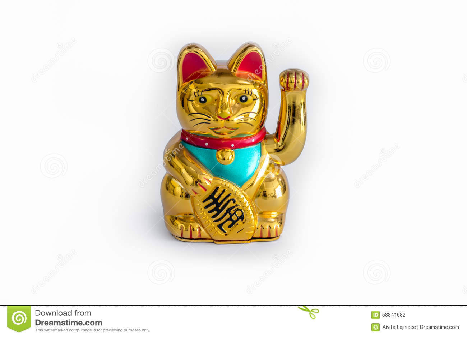 Japanese Lucky Cat (Maneki Neko)
