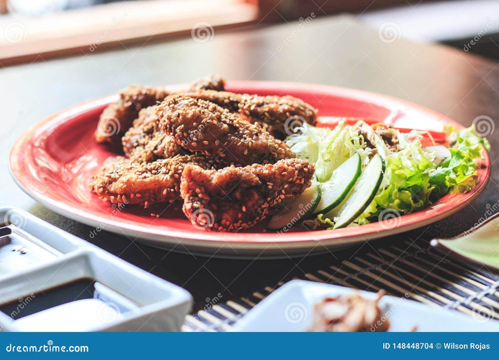 Japanese menu chicken - Imagen