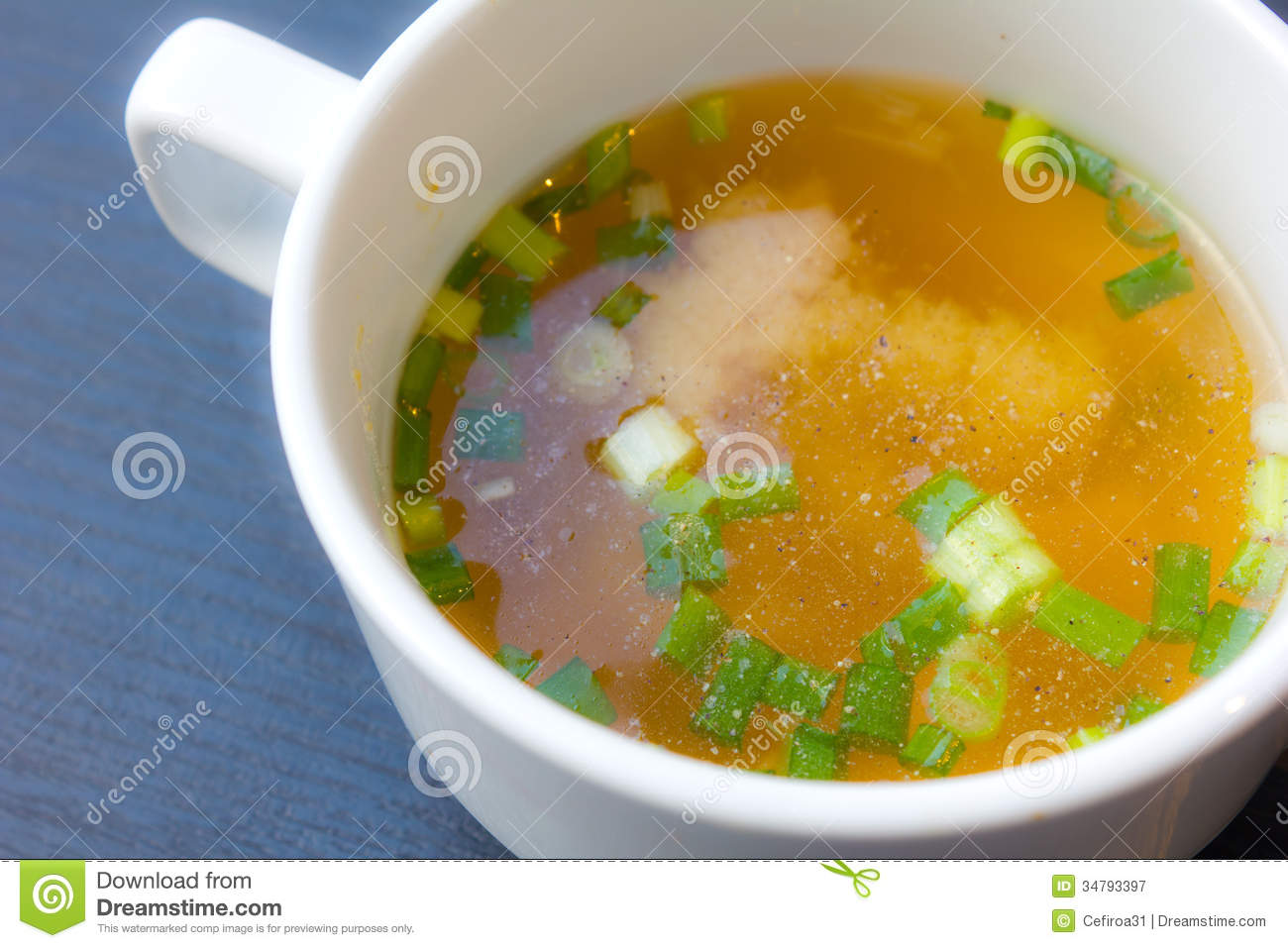 Japanese Miso Soup Royalty Free Stock Photography - Image: 34793397