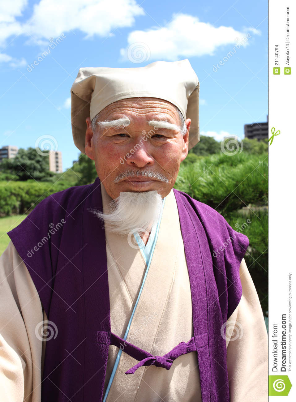 image Japan old man and gorgeous brunette