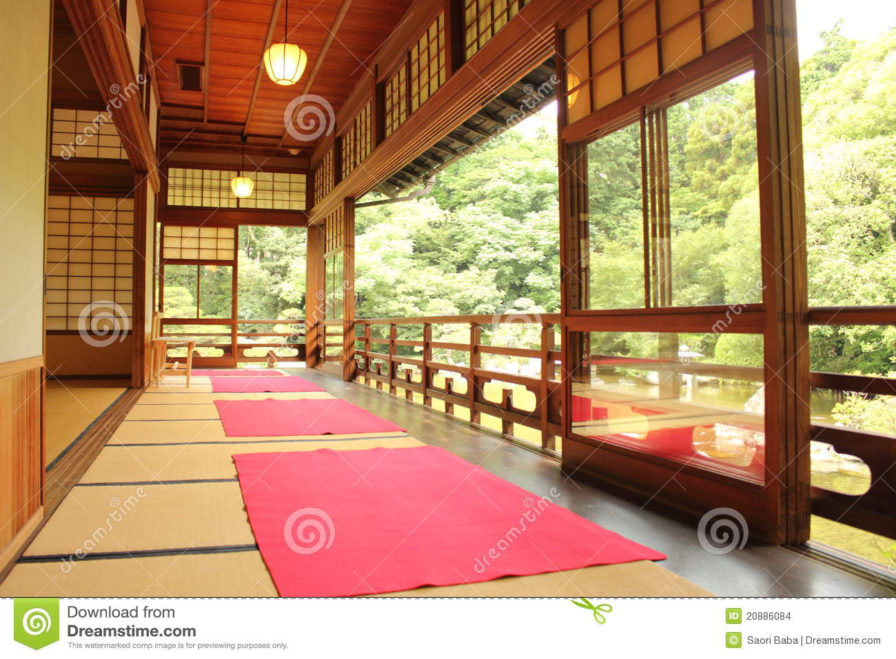 Japanese Room japanese room stock images - image: 20886084