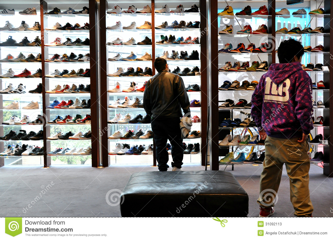 Japanese Shoe Store Editorial Stock Photo Image 31092113
