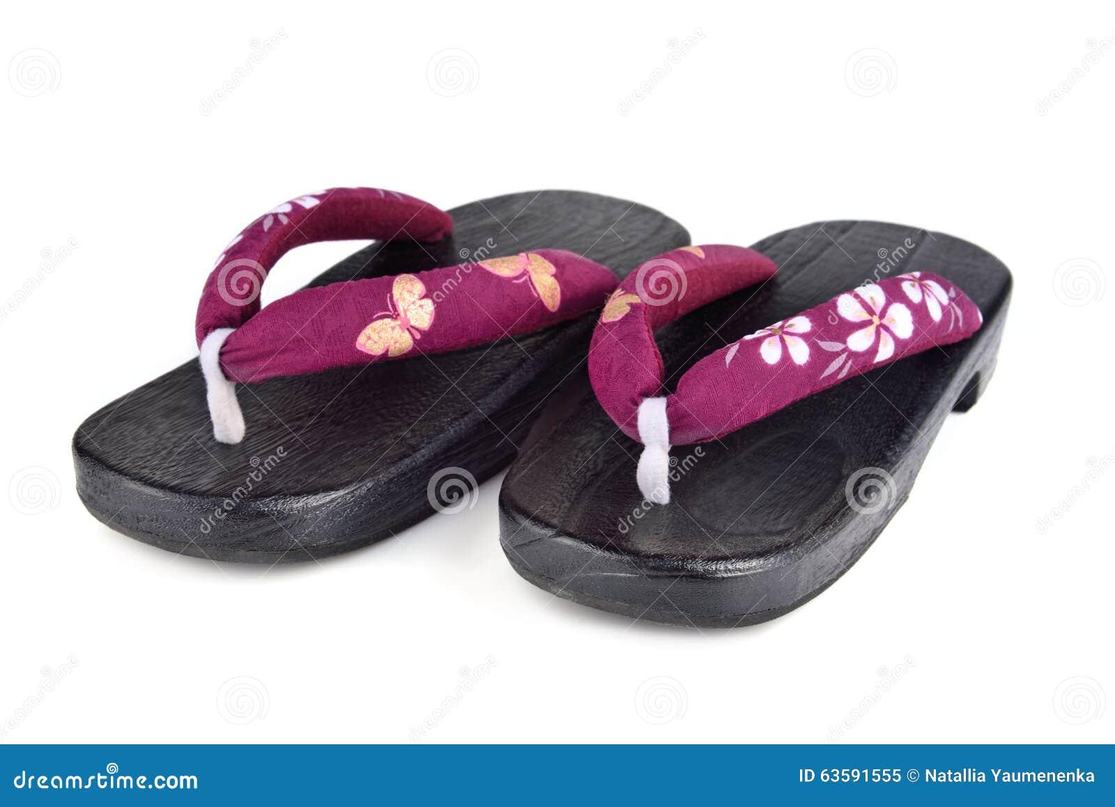 Japanese Shoes Stock Photo Image 63591555