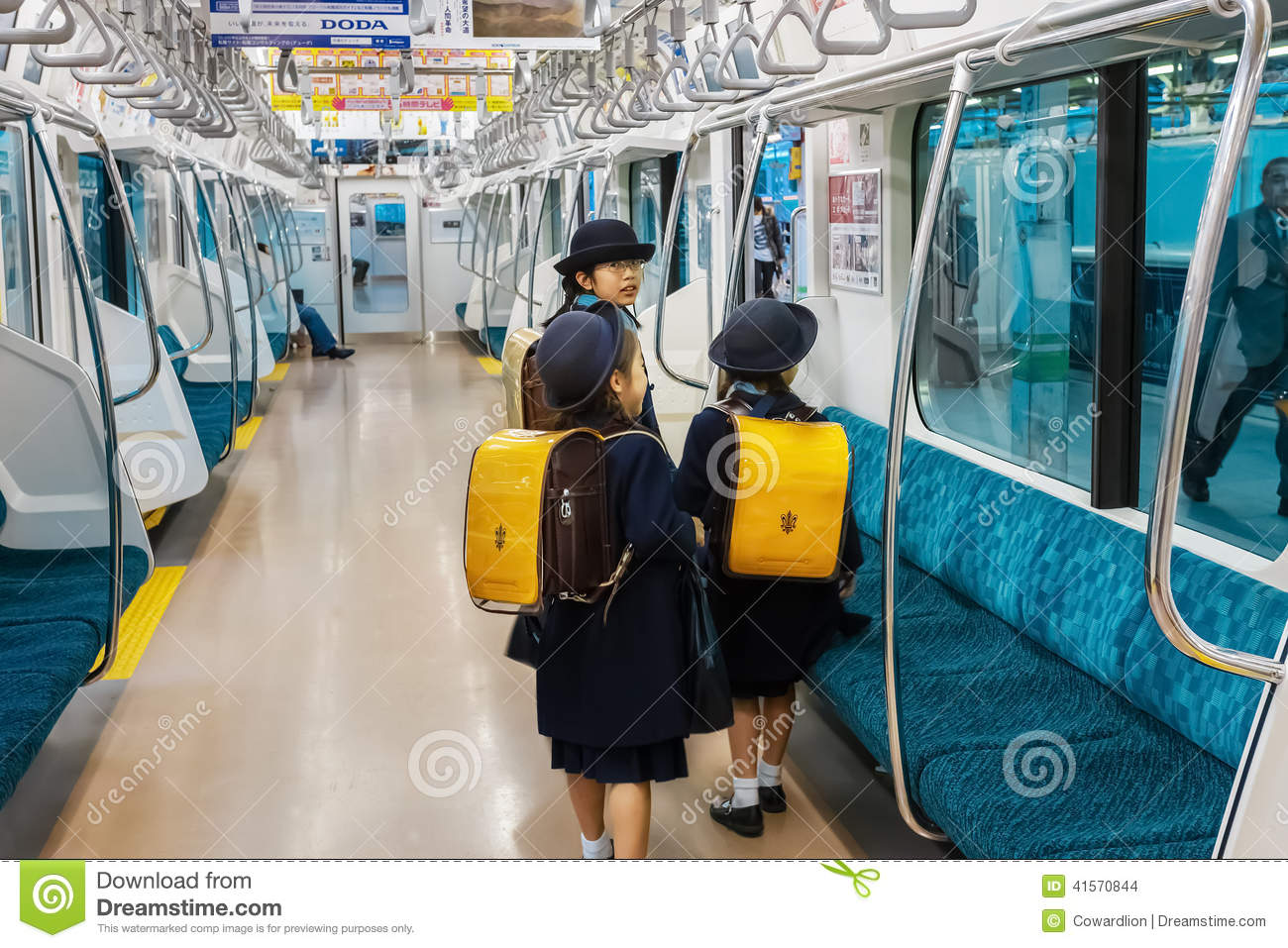 Japanese On The Train