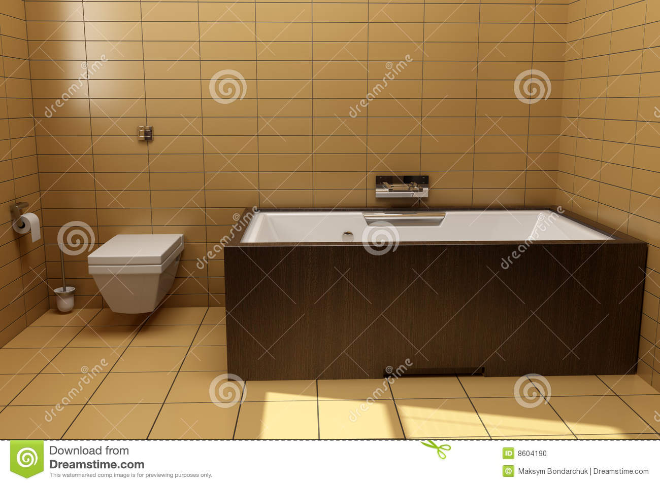 Japanese Style Bathroom Japanese Style Bathroom Top View Royalty Free Stock Photo Image