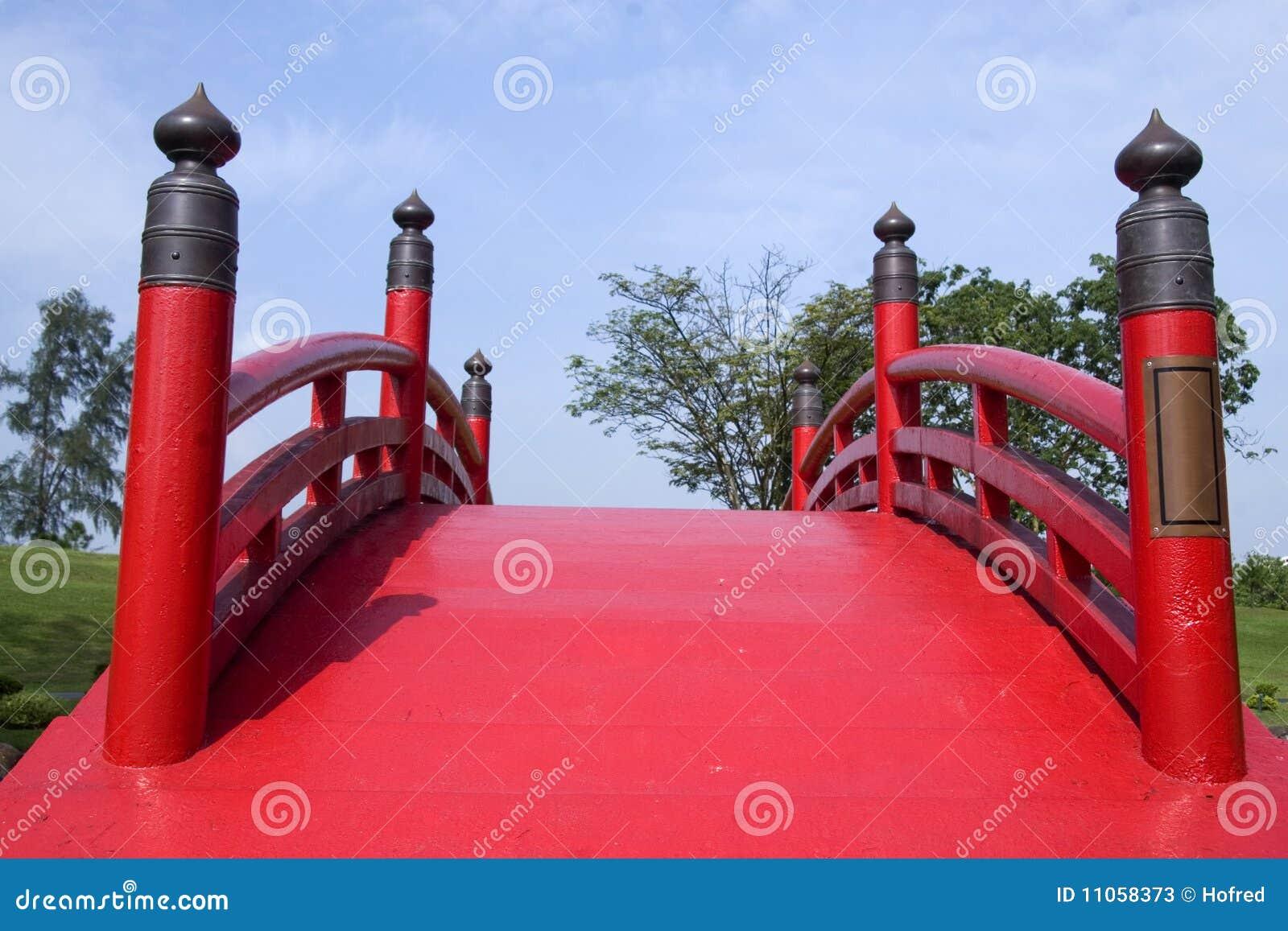 Japanese style bridge stock photos image 11058373 for Japanese style bridge