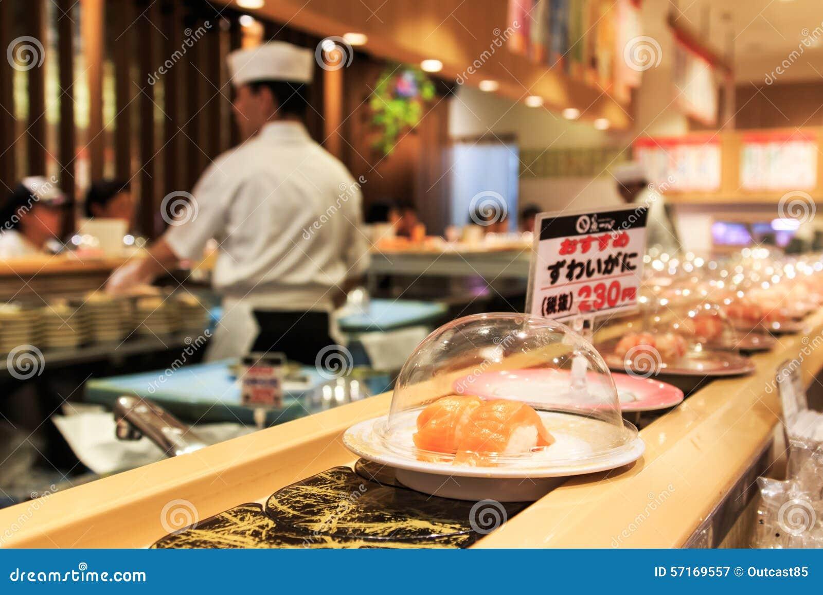 Japanese restaurant editorial image for Airasia japanese cuisine