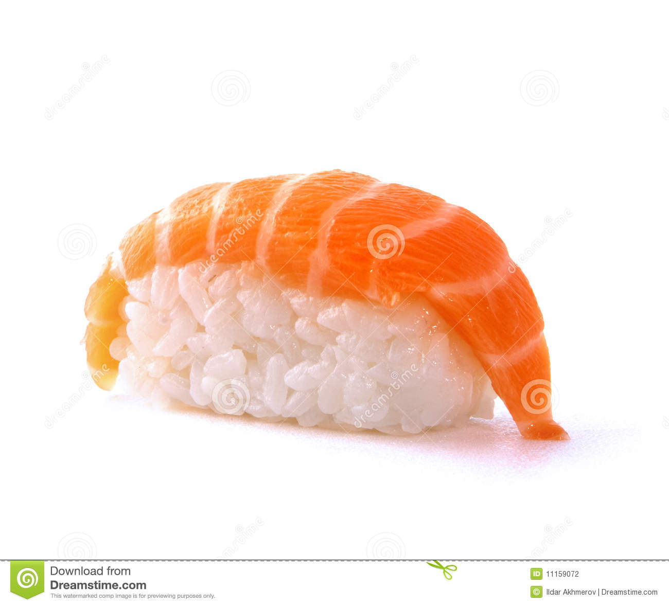 Japanese sushi with salmon fish stock photography image for Best fish for sushi