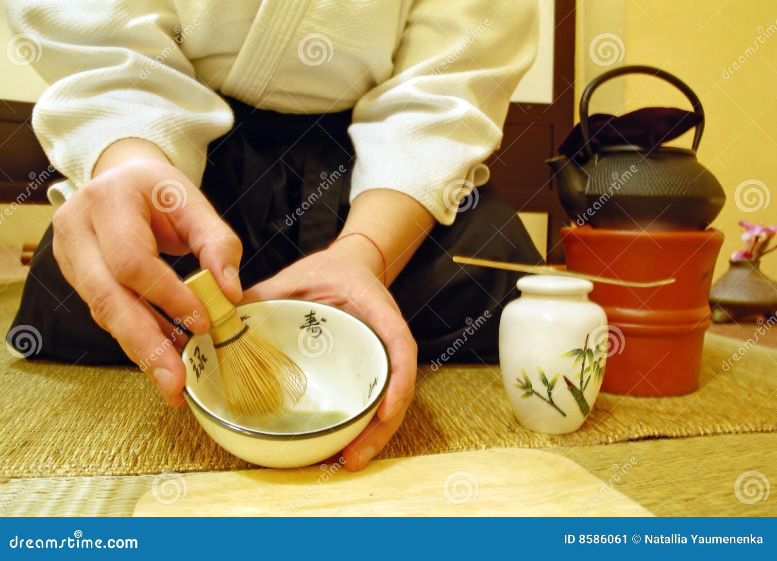 Japanese Tea Ceremony Stock Image Image Of Making