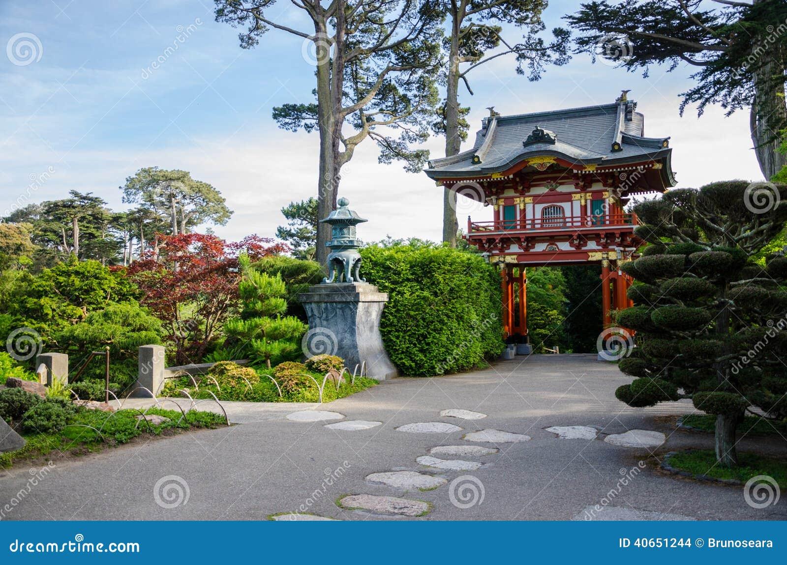 Japanese Tea Garden In San Francisco Stock Photo Image Of Gate Every 40651244