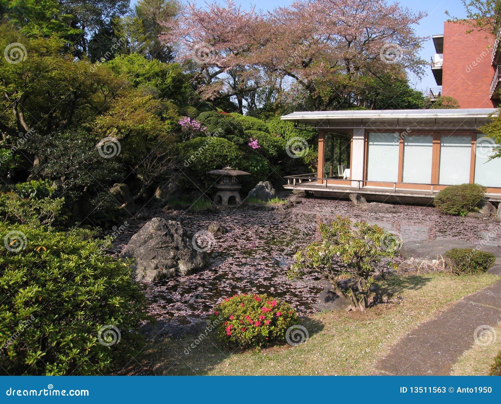 Japanese tea room stock photos image 13511563 for Japanese garden room