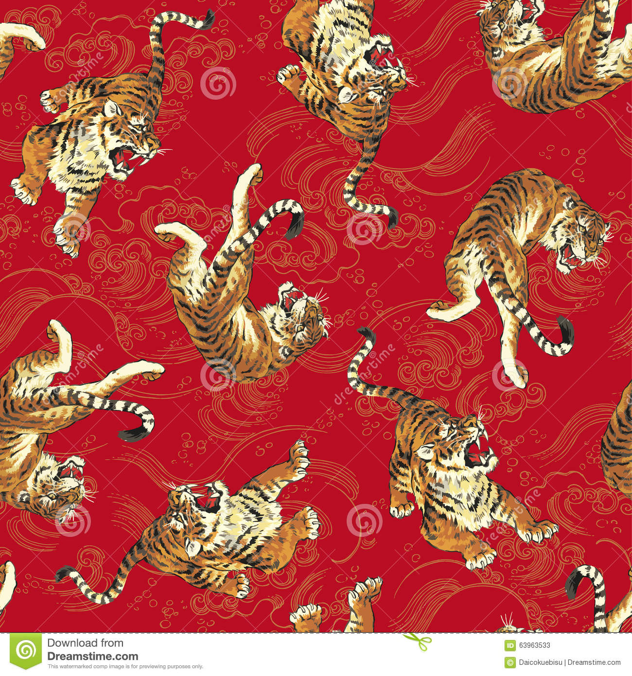 Tiger Pattern Unique Decorating Ideas