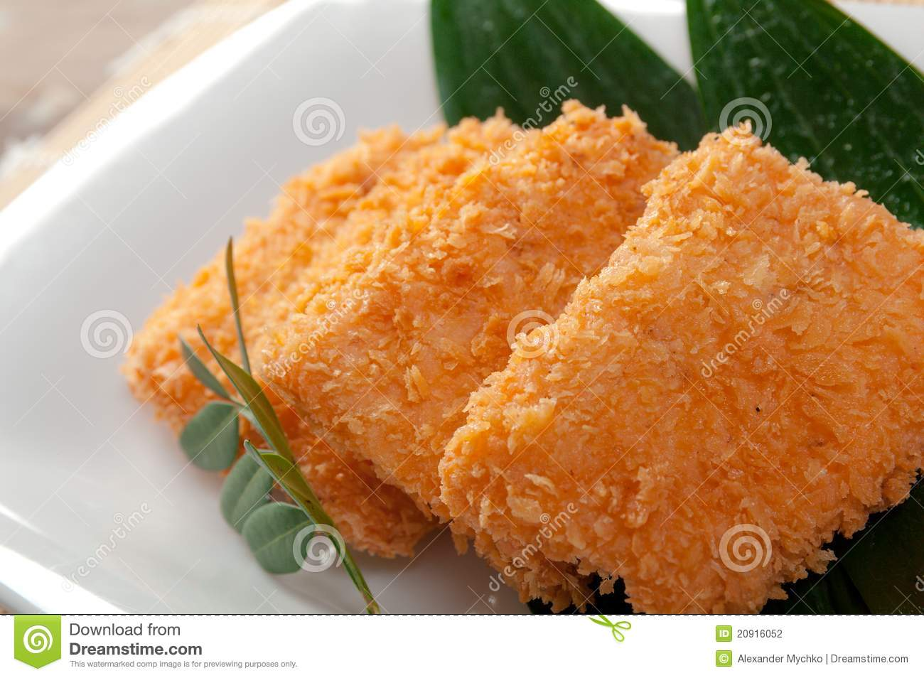 Japanese Tonkatsu, Pork Cutlet Stock Photography - Image: 20916052