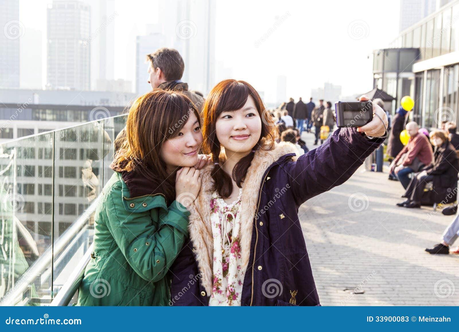 Japan China Girls Frankfurt