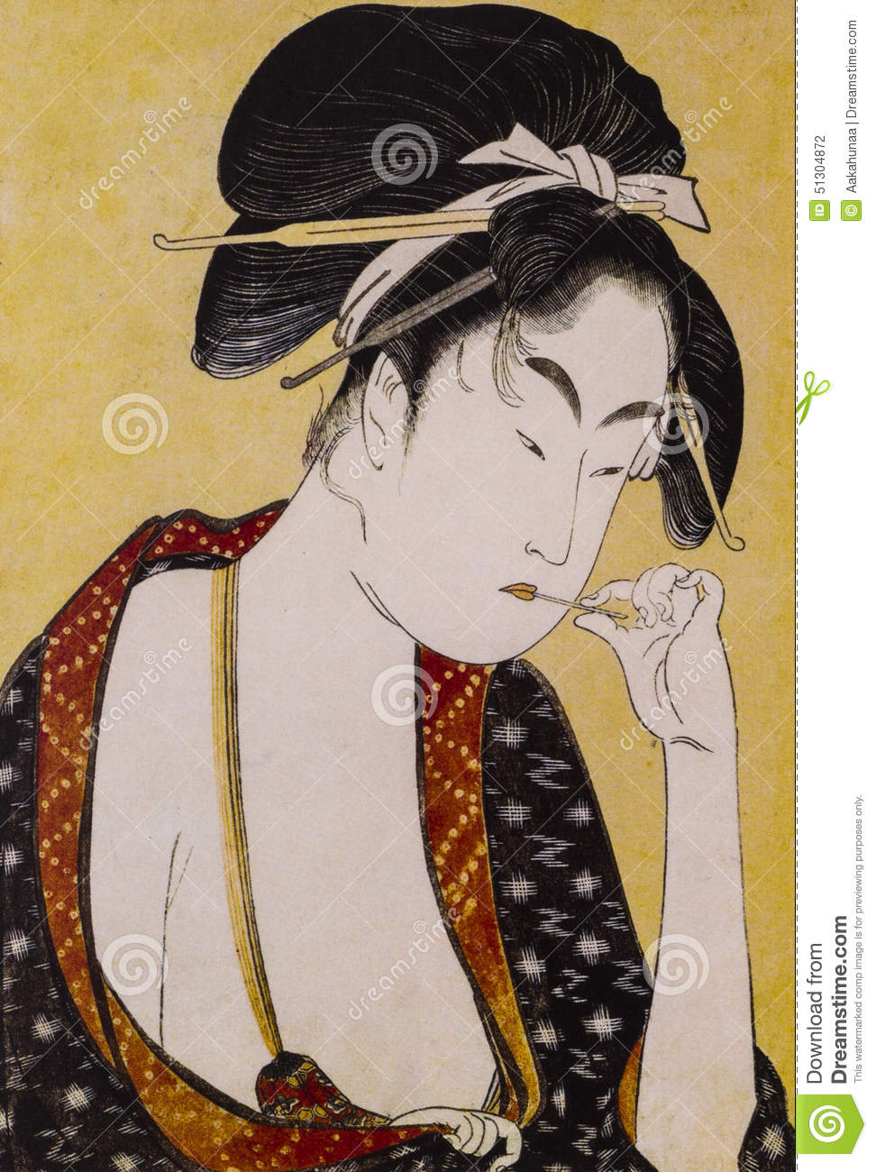 Japanese Traditional Clothing Stock Photo Image Of Women Traditional 51304872