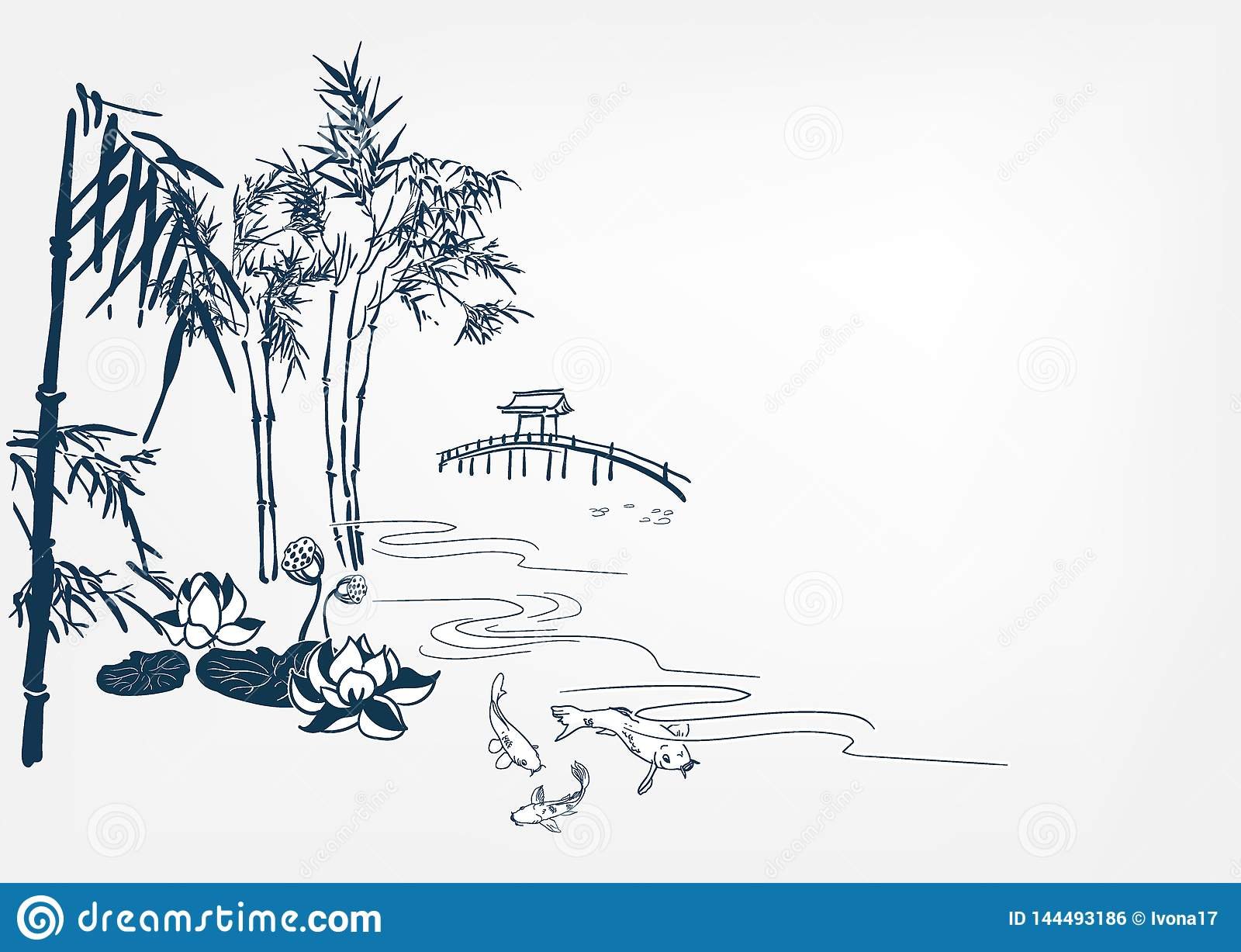 japanese vector landscape background chinese card river stock illustration illustration of sketch sumi 144493186 https www dreamstime com japanese vector landscape background chinese card river image144493186