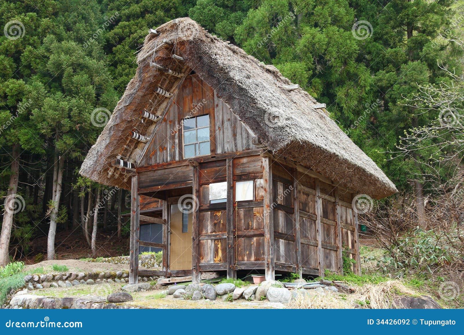 Japanese Village Stock Photography Image 34426092