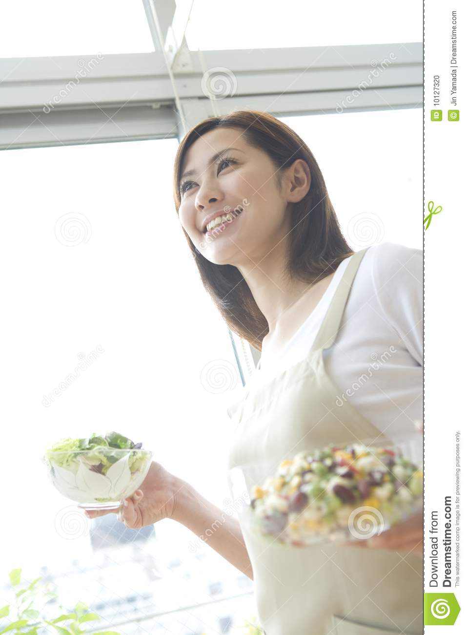 Asian Woman Cooking 95