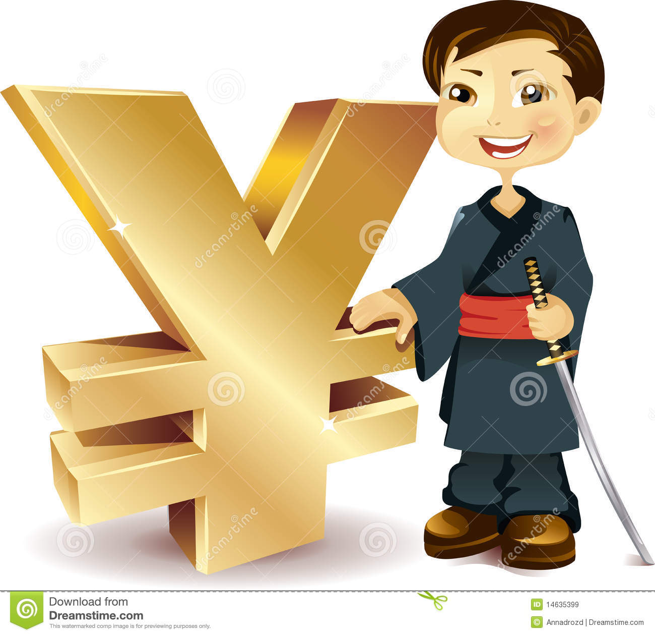 Japanese with a yen symbol stock vector illustration of buying japanese with a yen symbol biocorpaavc Choice Image