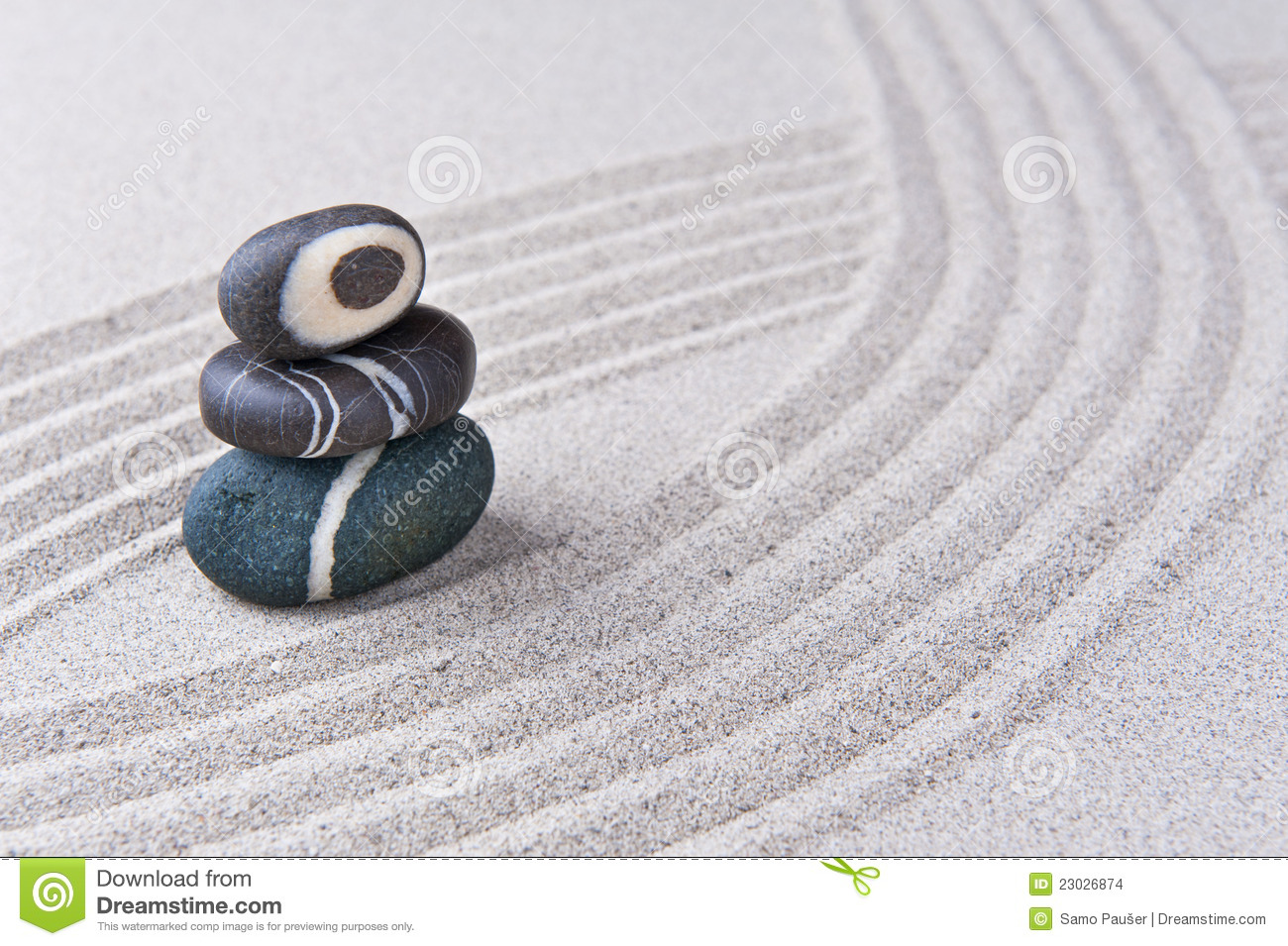 Stone Zen Garden Japanese zen garden stone stock photo image of macro 23026874 workwithnaturefo