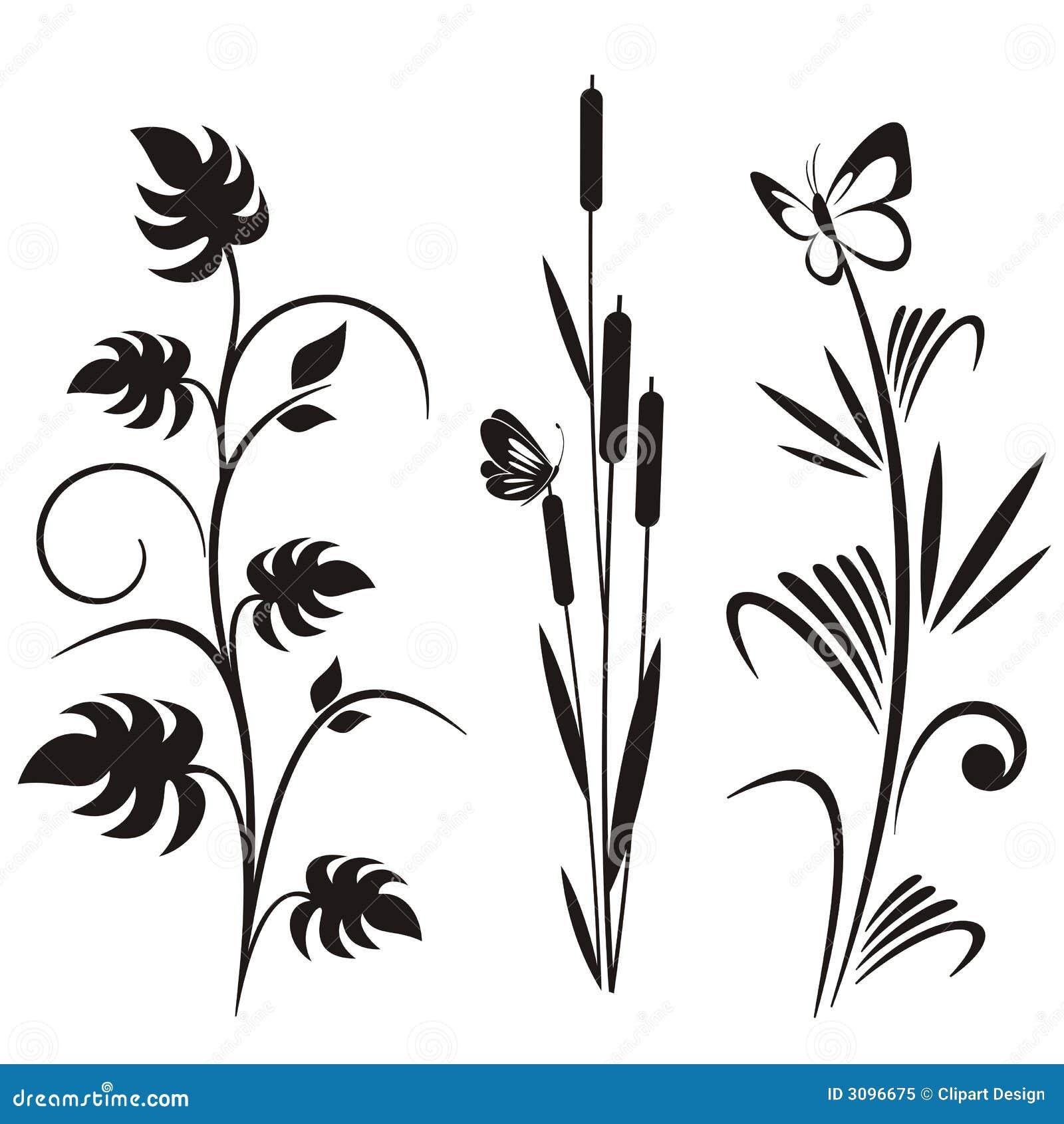 Japanische blumenauslegungserie vektor abbildung illustration von graphik dekoration 3096675 - Japanische dekoration ...