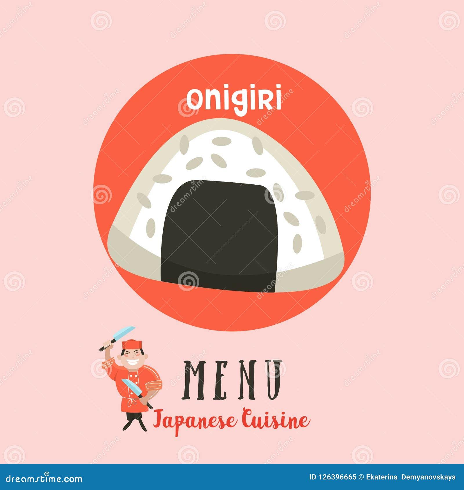 Japanische Küche Japanischer Chef Satz japanisches traditionelles DIS