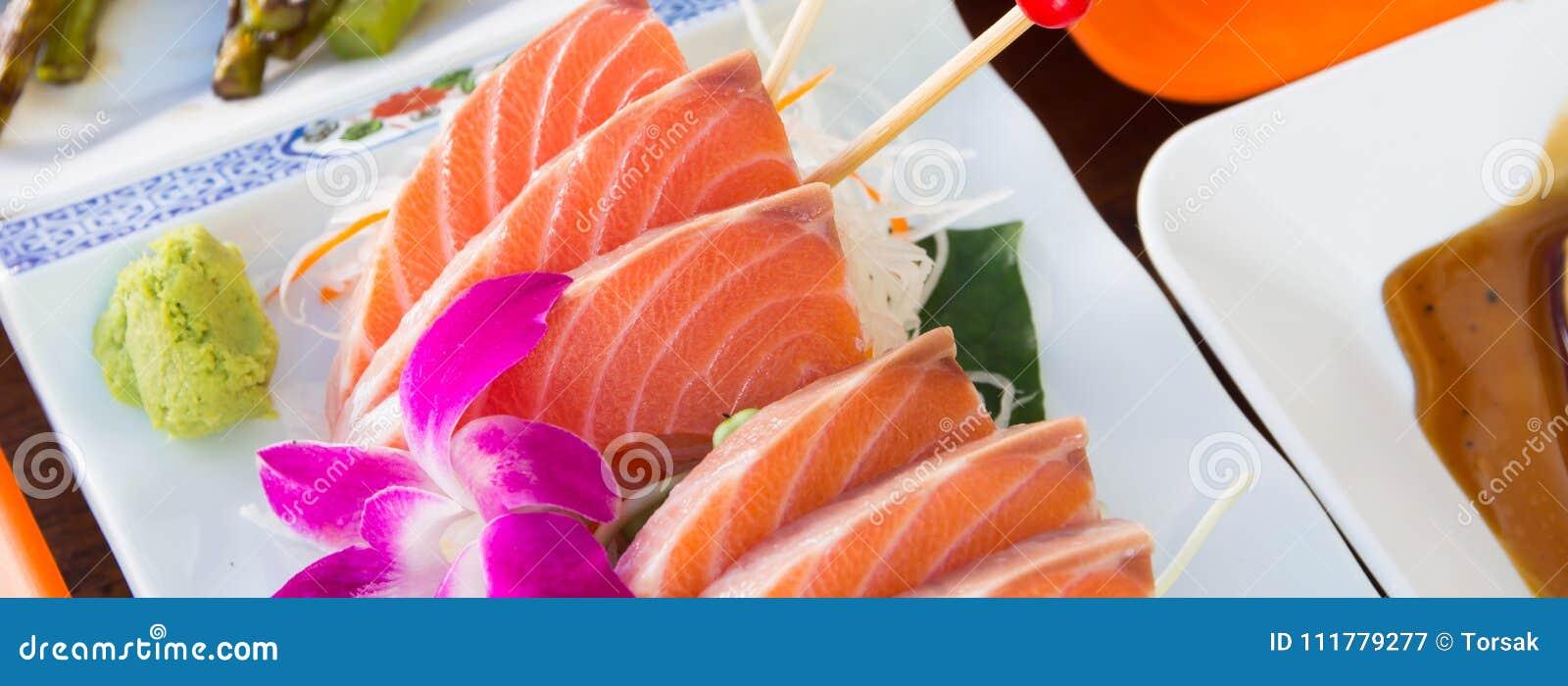 Japanischer Nahrungsmittelsashimi