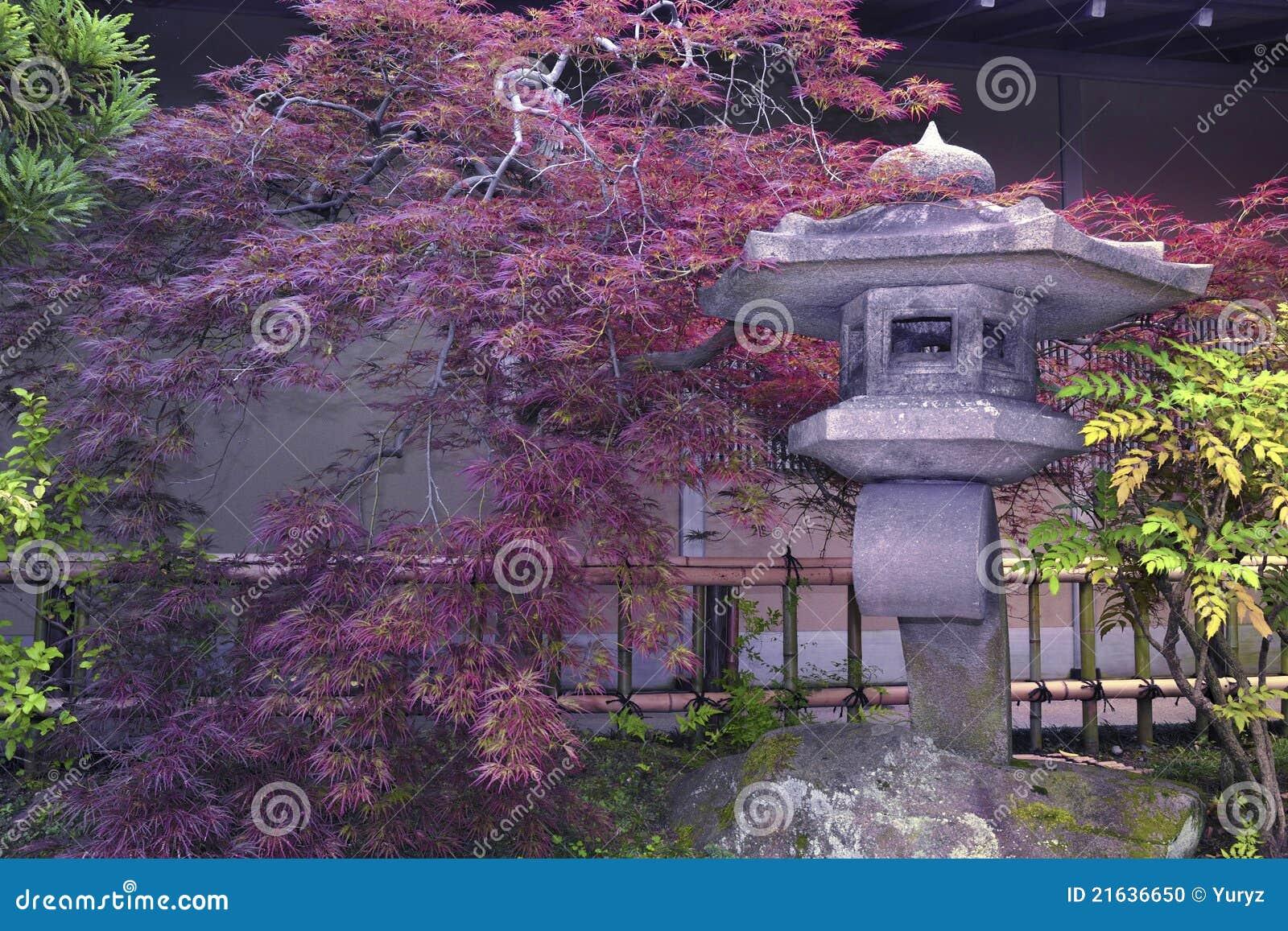 Japanischer steingarten stockfoto bild 21636650 - Japanischer steingarten ...