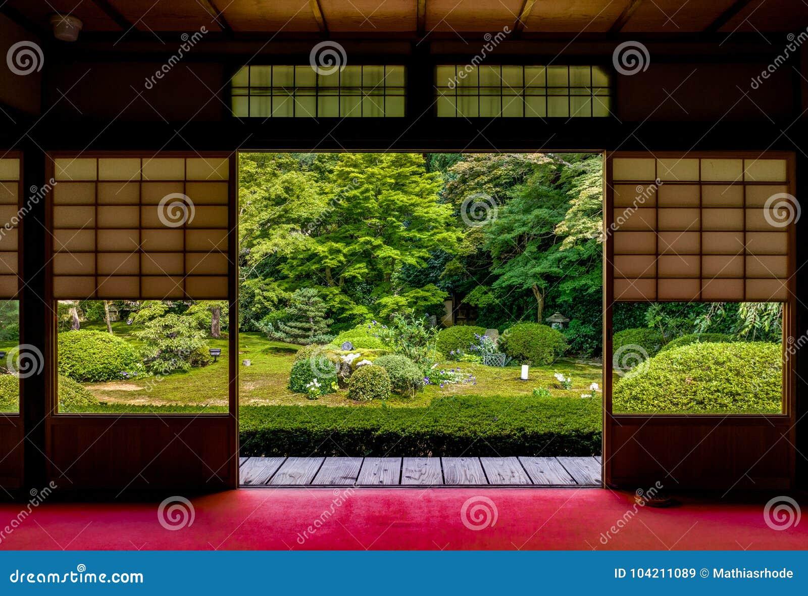 Japanischer Tempel Unryu in Kyoto