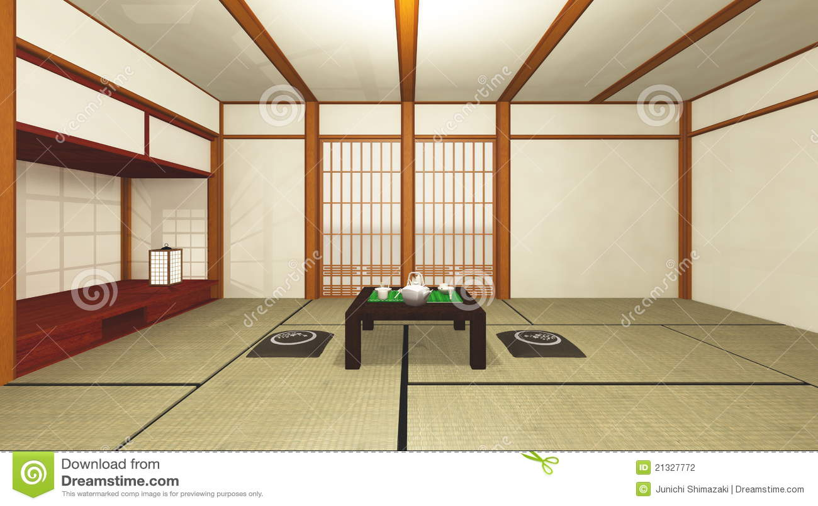 Japanisches haus stockfotografie bild 21327772 for Grundriss japanisches haus
