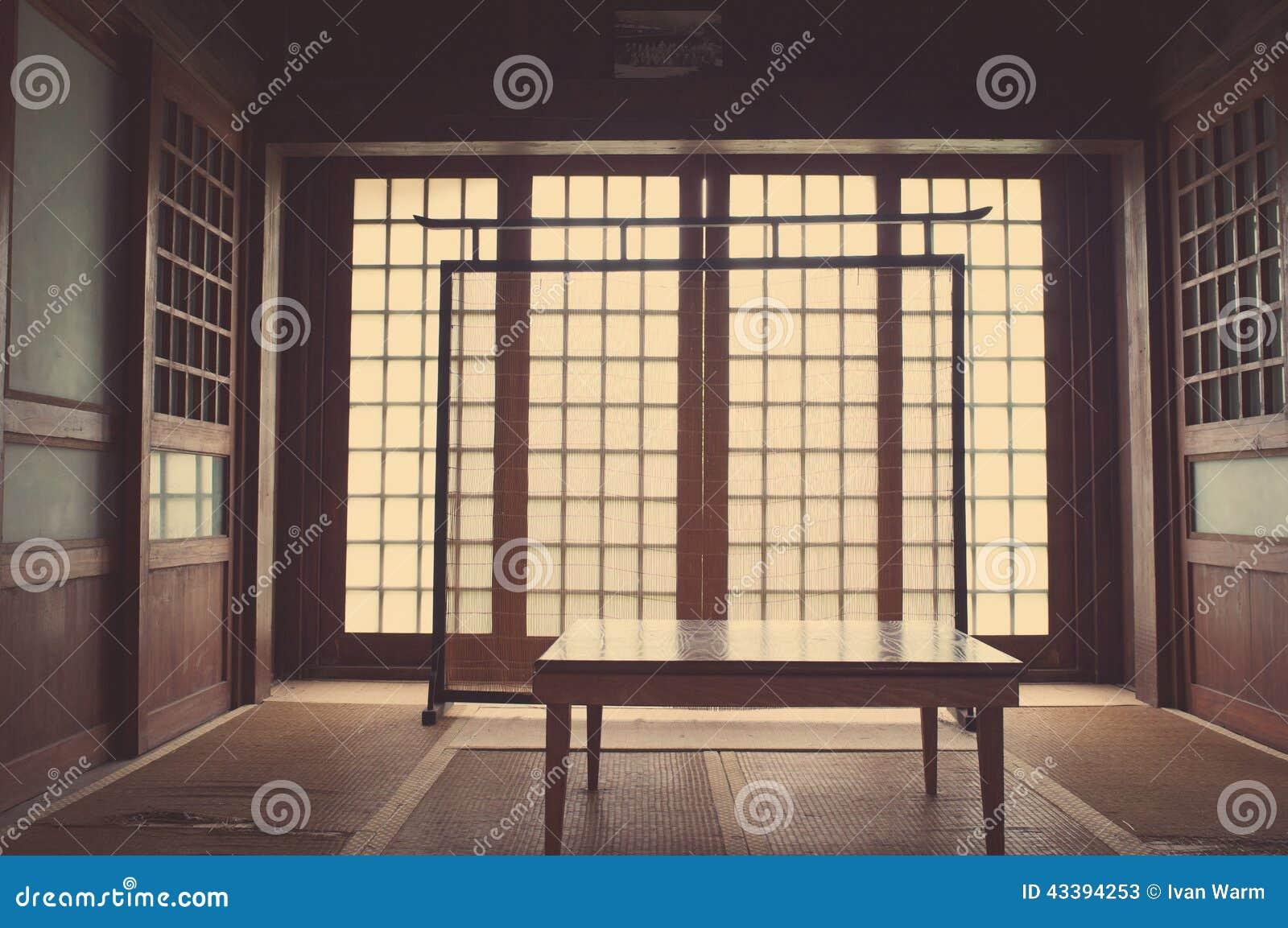 japanisches schlafzimmer stockfoto - bild: 43394253, Schlafzimmer entwurf