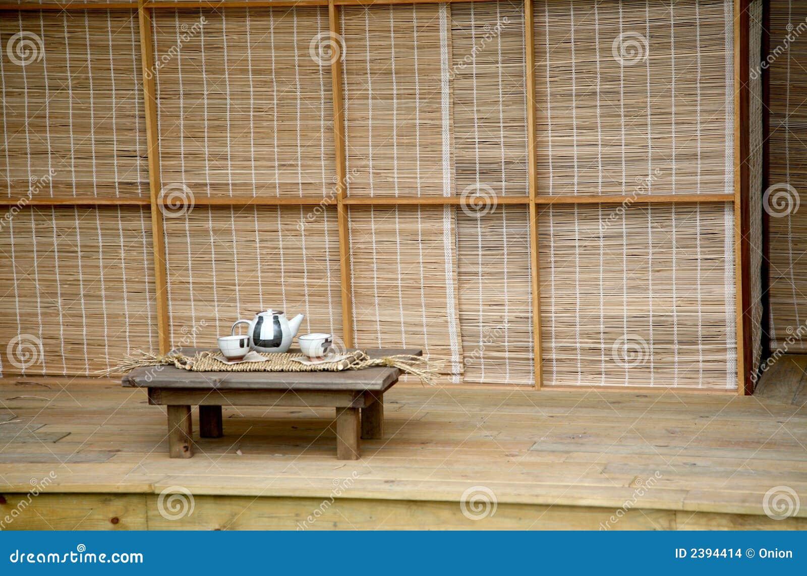japanisches teehaus stockfoto bild von japanisch entspannung 2394414. Black Bedroom Furniture Sets. Home Design Ideas