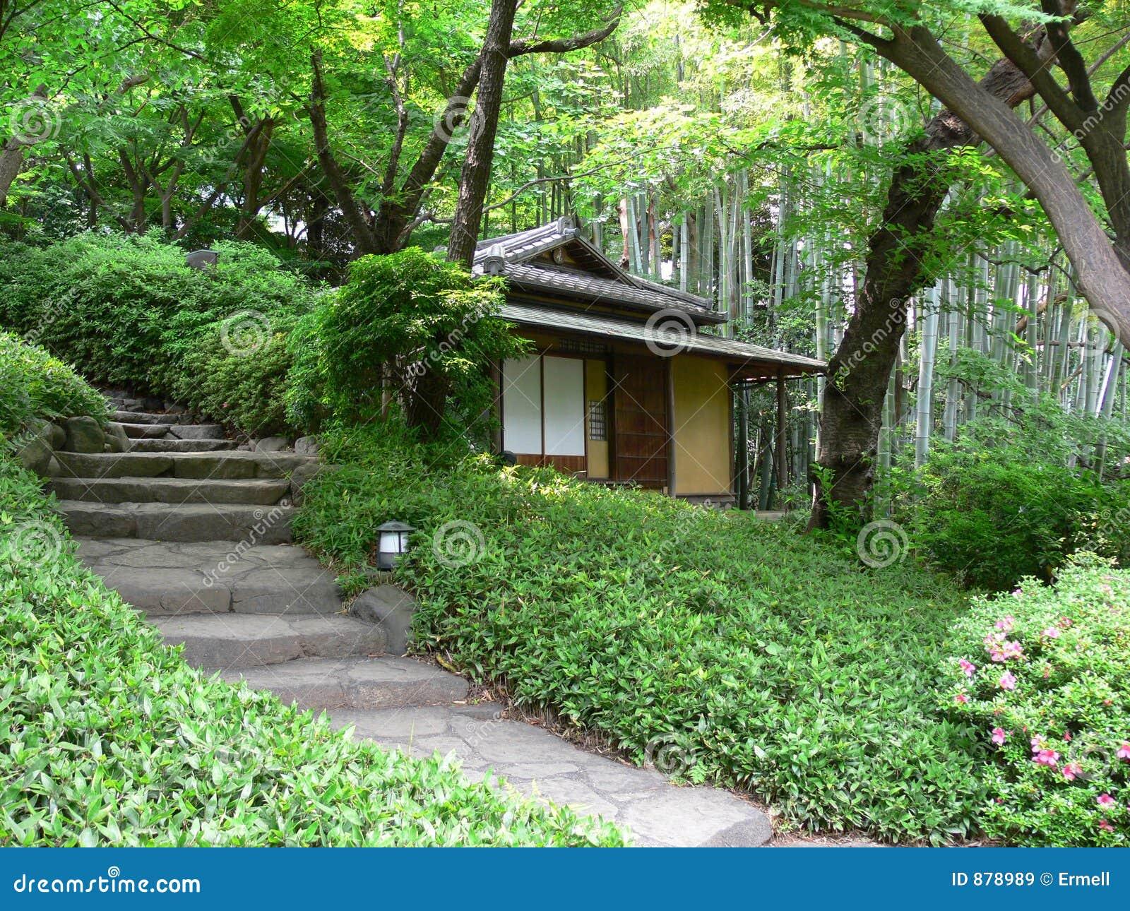 japanisches teehaus lizenzfreie stockbilder bild 878989. Black Bedroom Furniture Sets. Home Design Ideas