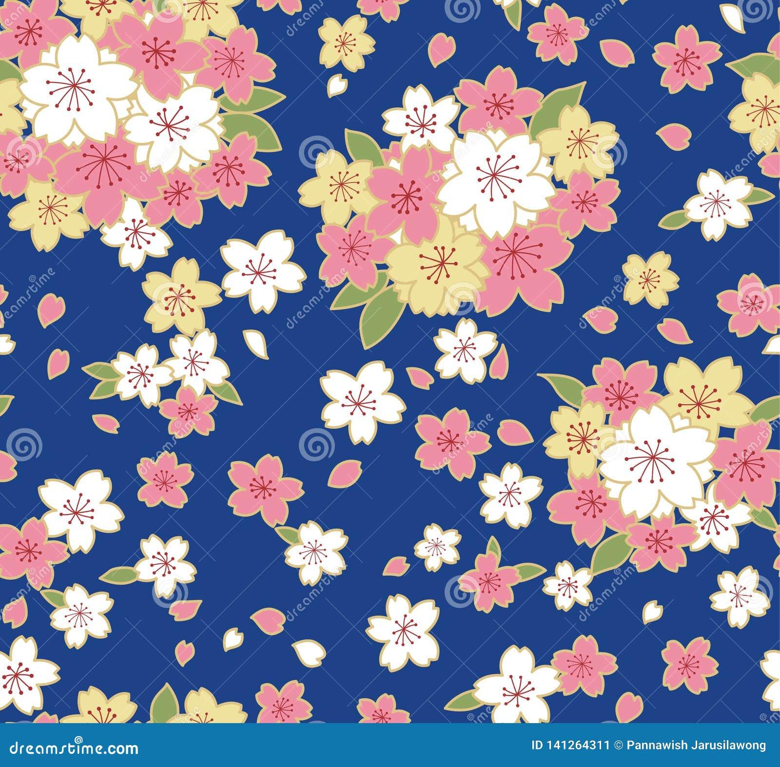 Japans Schitterend Cherry Blossom Pattern