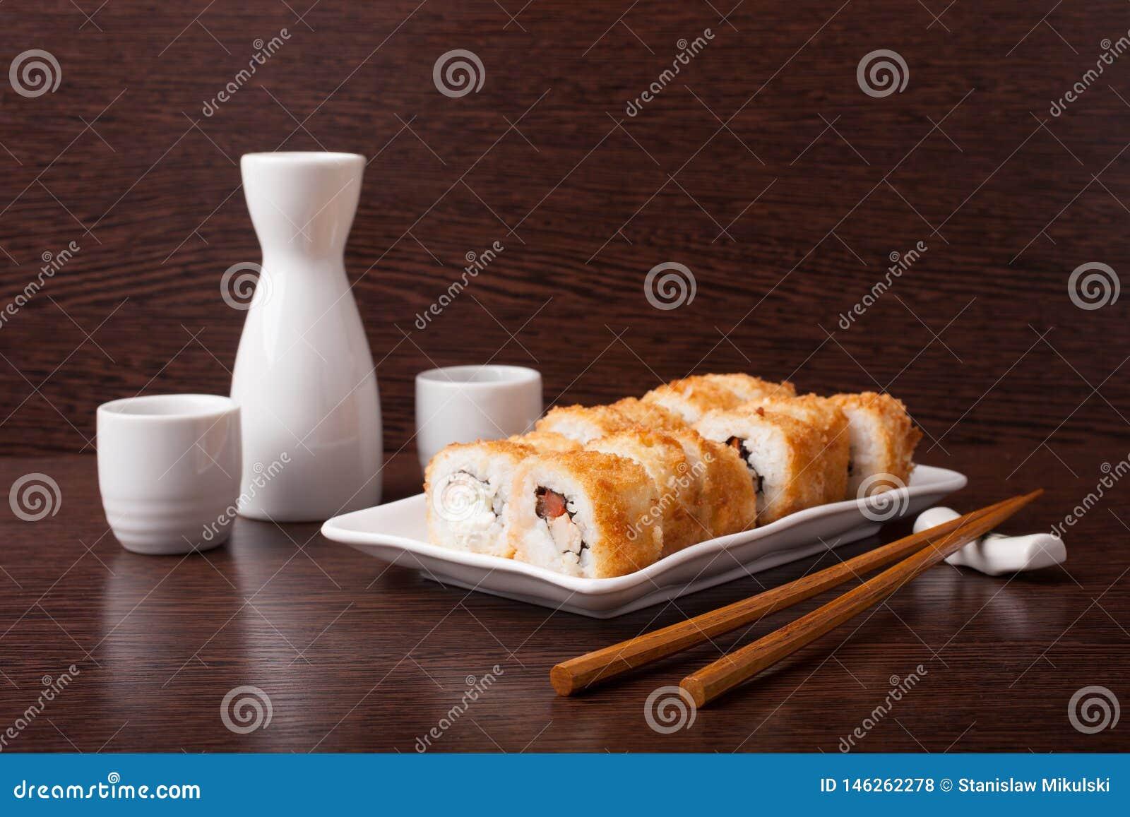 Japans sushi traditioneel Japans voedsel