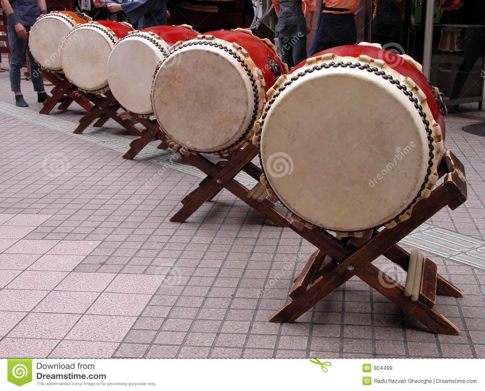 Japans trommelsperspectief