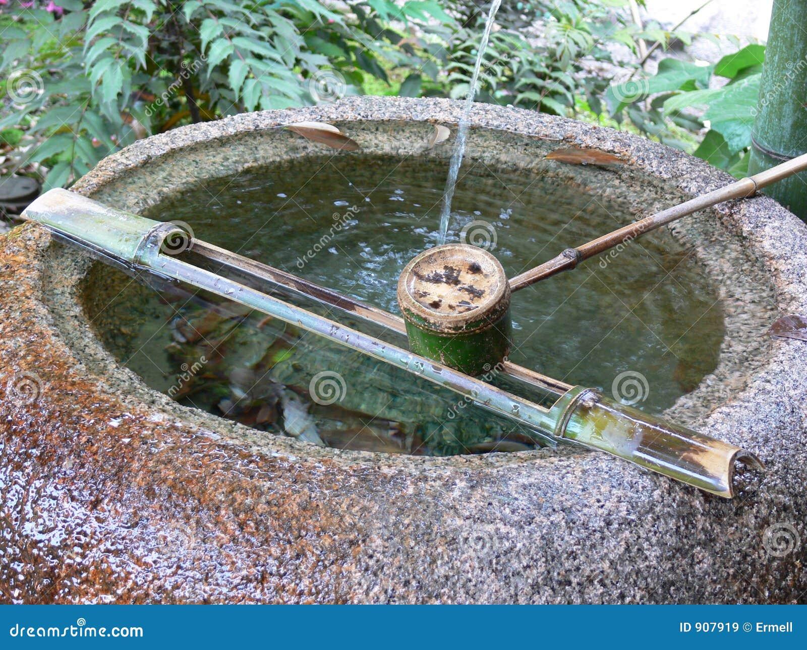 Japanse fontein