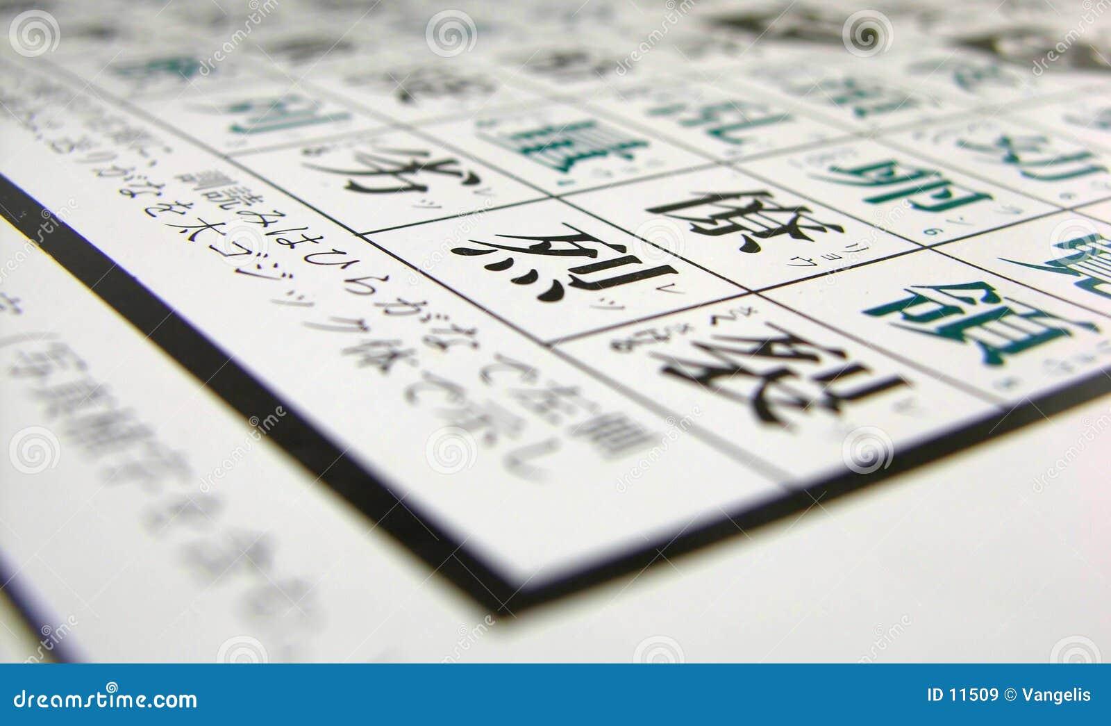 Japanse Kanji