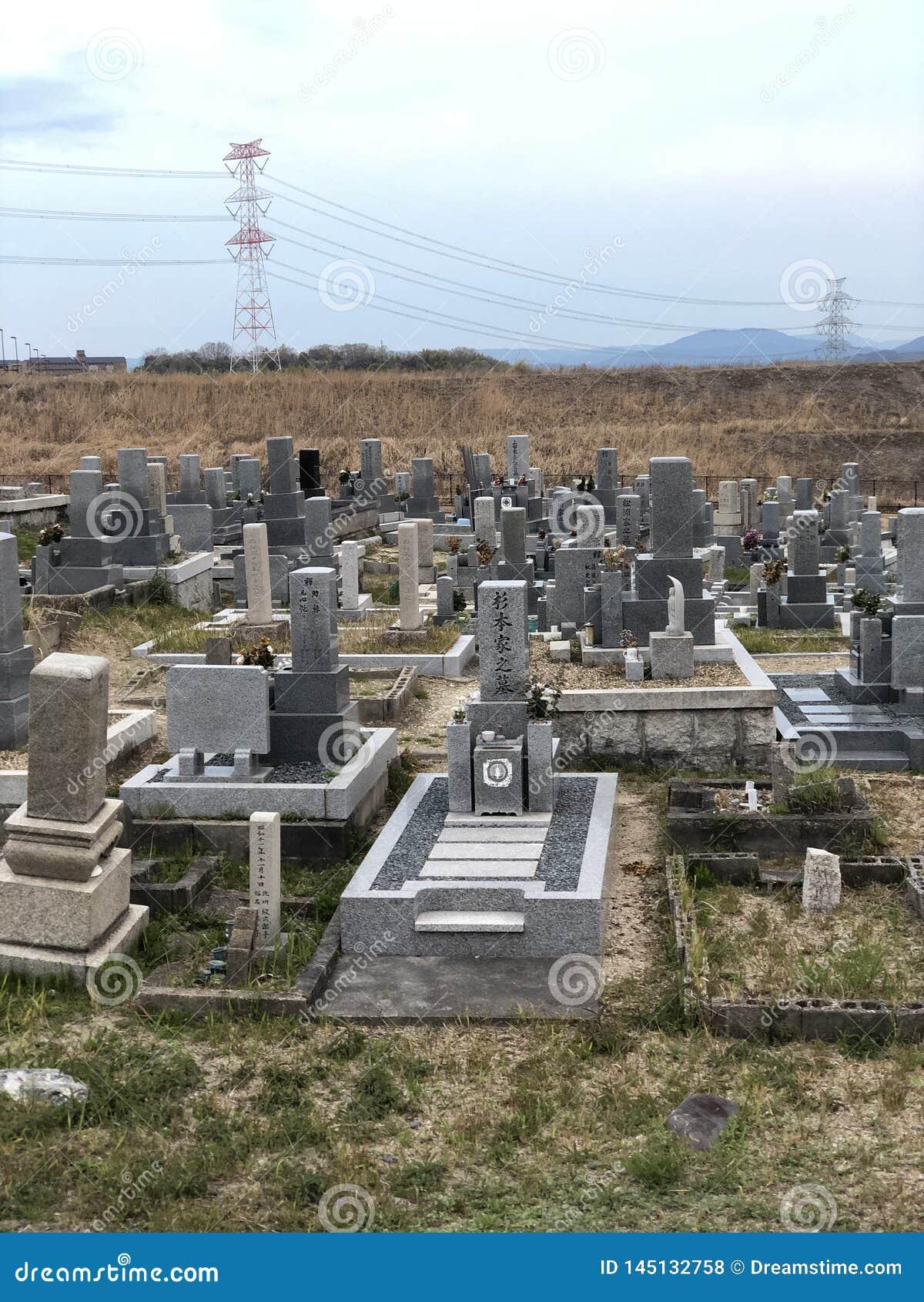 Japanse kerkhoven