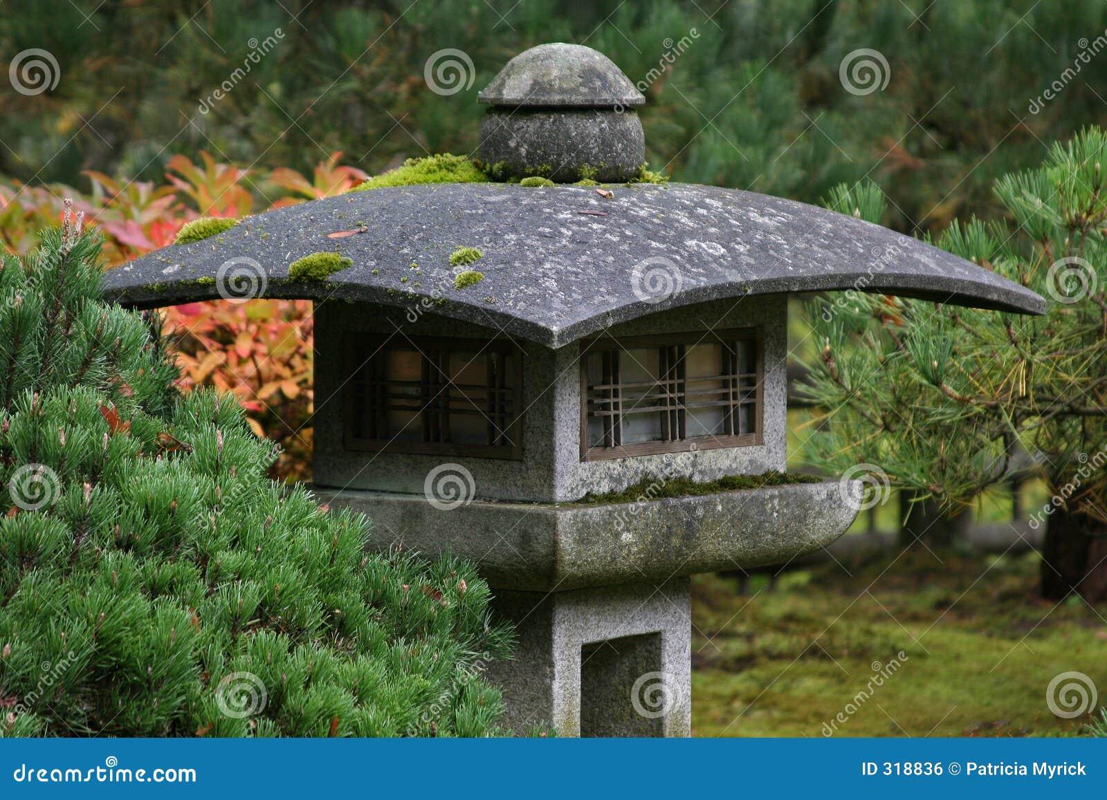 Japanse lantaarn royalty vrije stock afbeelding afbeelding 318836 for De eigentijdse tuin