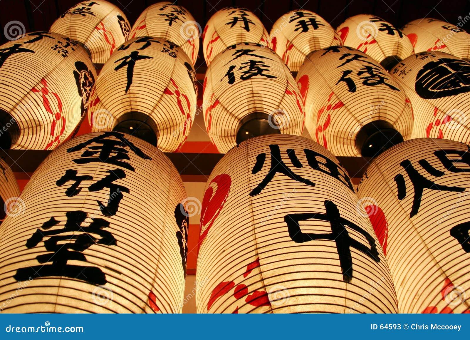 Japanse Lantaarns