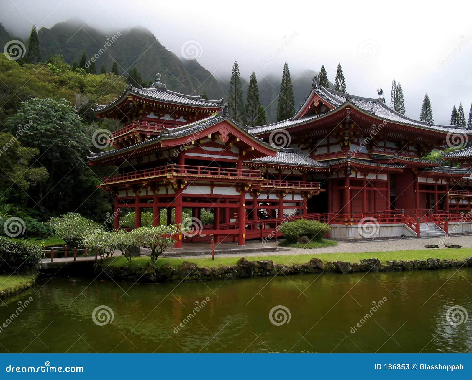 Japanse tempel stock foto 39 s afbeelding 186853 for Architecture japonaise