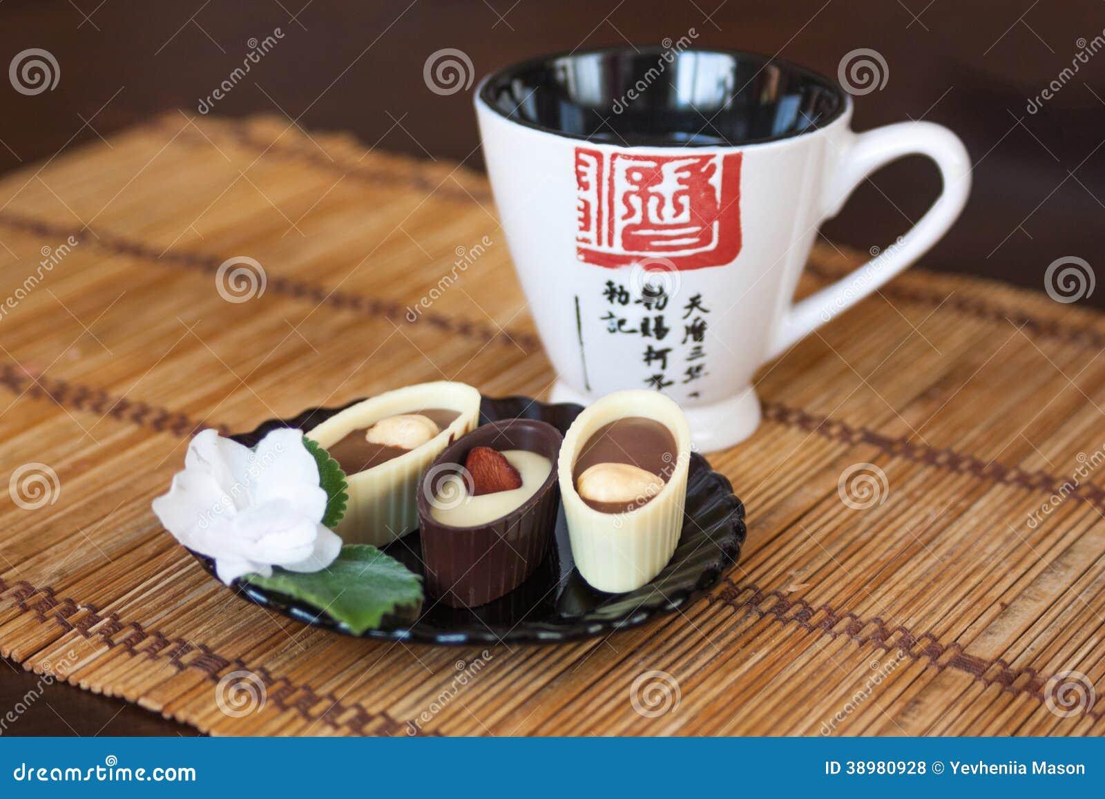 Japanse thee en snoepjes