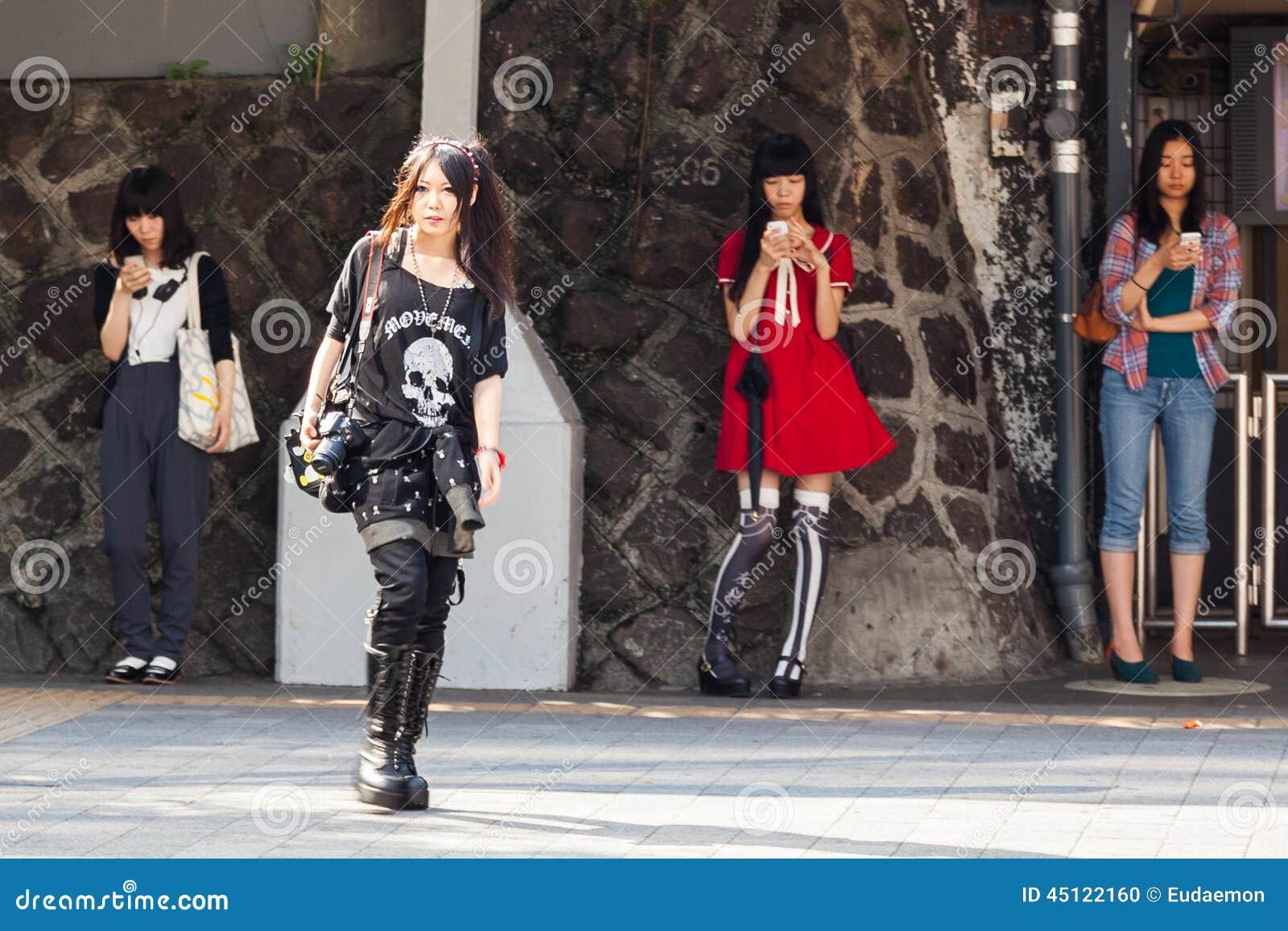 Japanse tienerstijlen