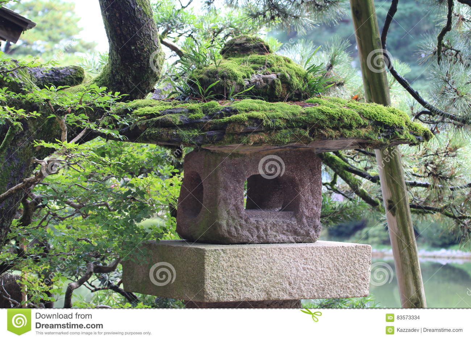 Japanse Tuindecoratie Stock Foto Image Of Sier Japan 83573334