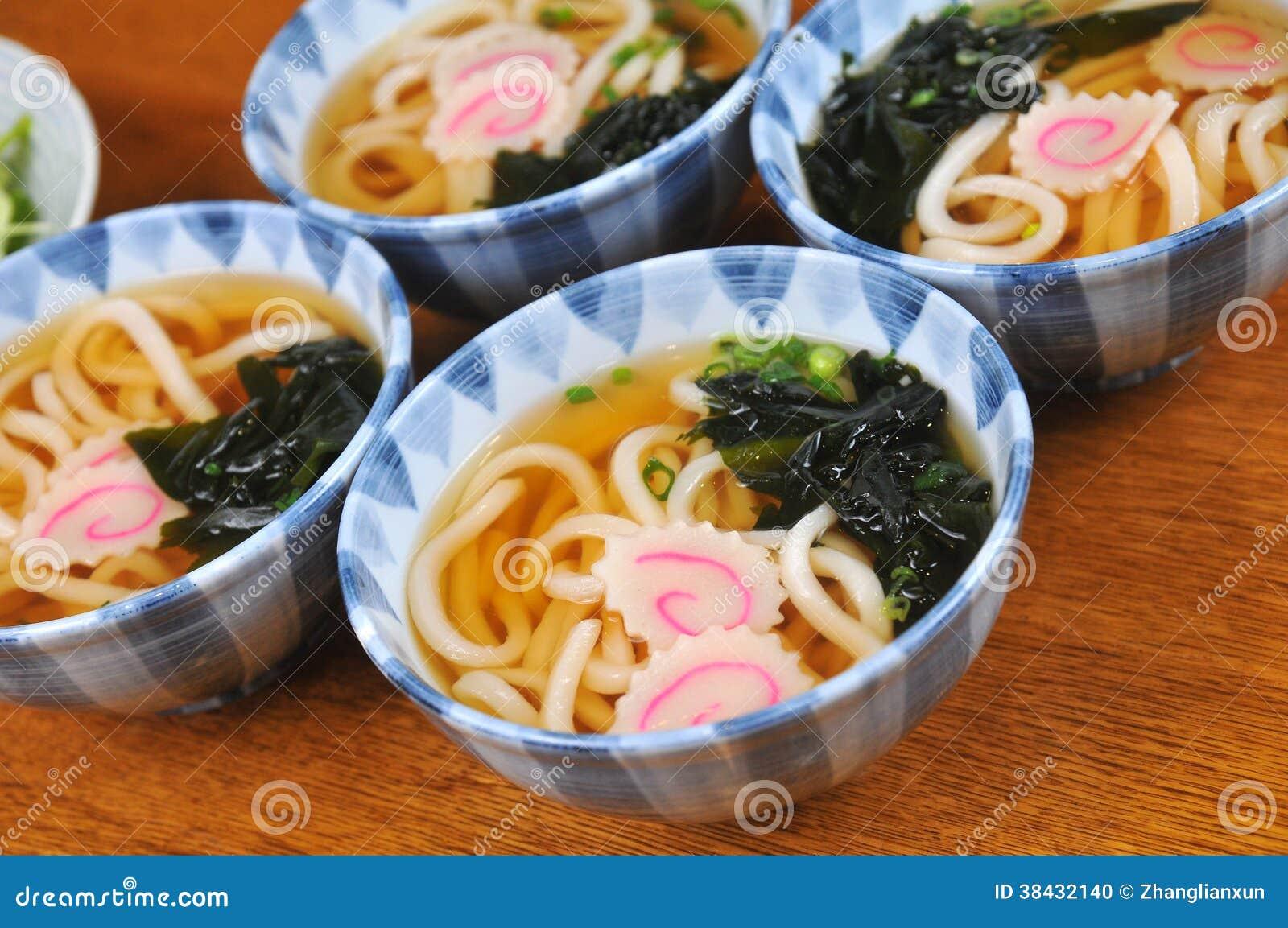 Japanse Udon-noedels