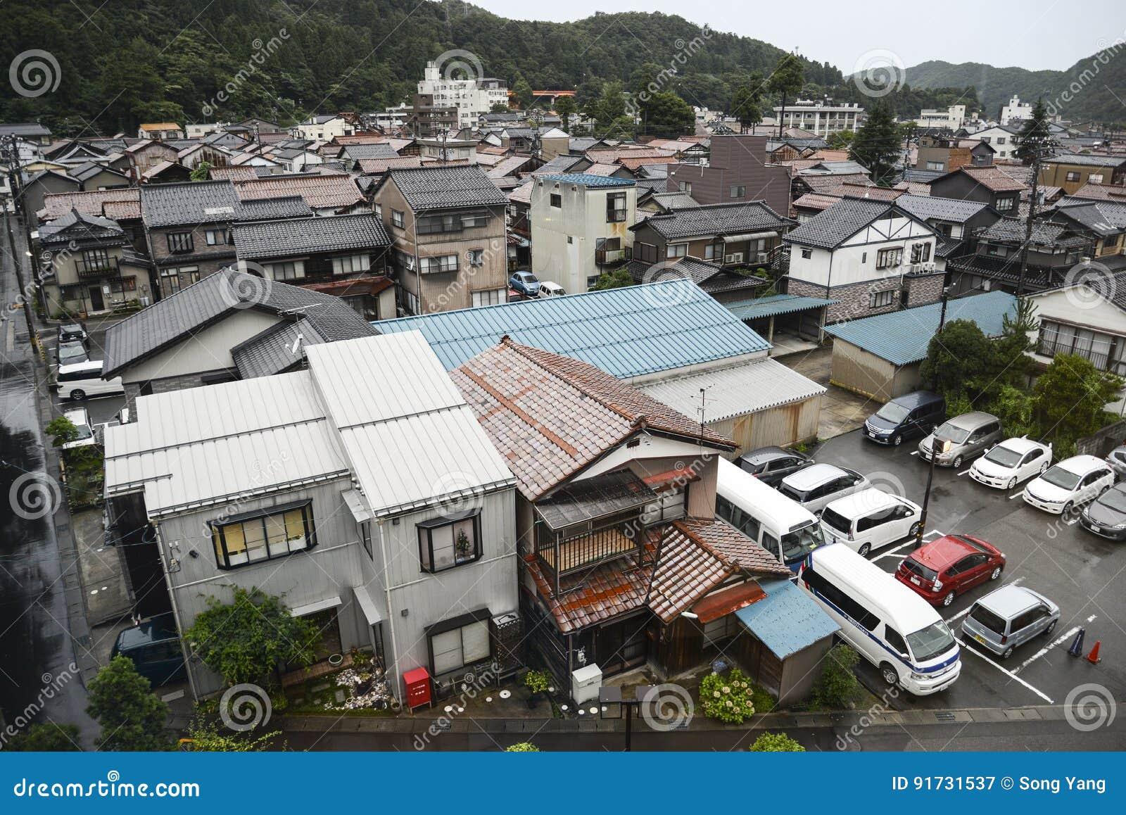 Japansk förorterna