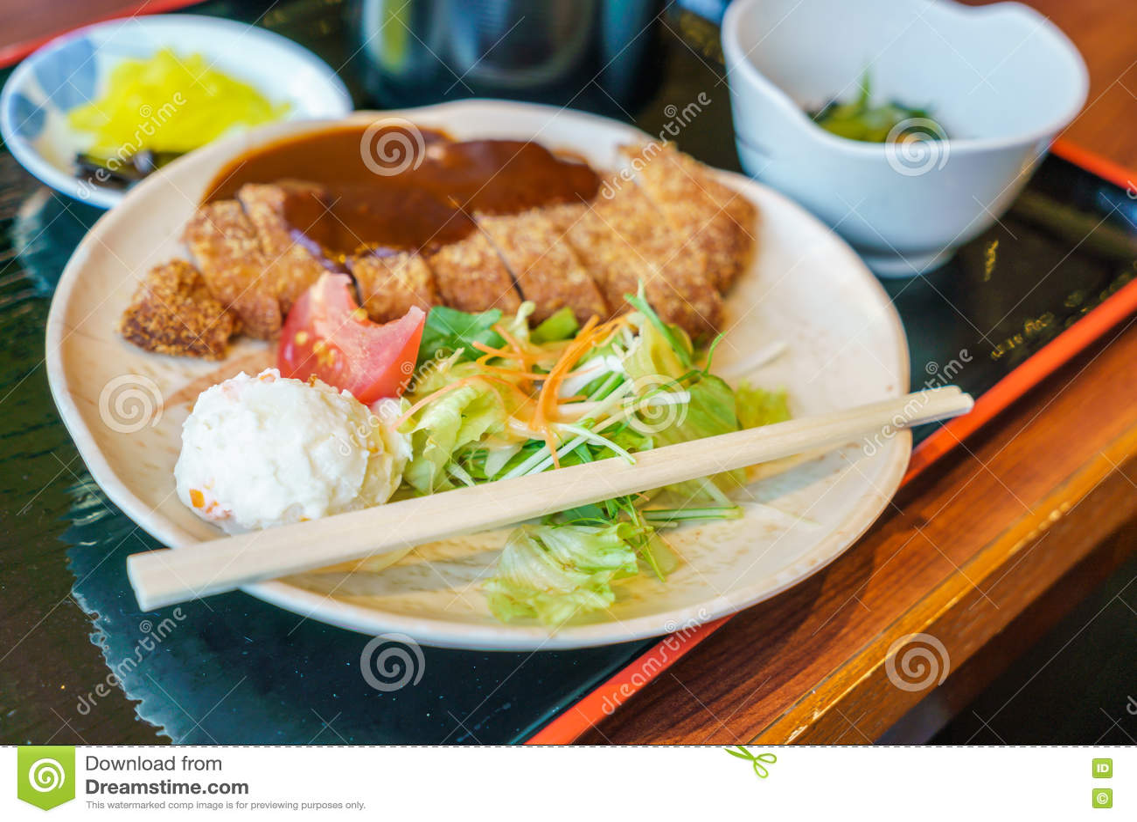 Japansk matstilTeriyaki höna med ris